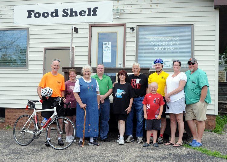 Kenyon Food Shelf Ride to Restock